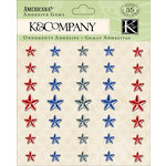 K and Company - Americana Collection - Adhesive Gems