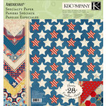 K and Company - Americana Collection - 12 x 12 Specialty Paper Pad