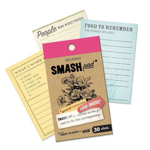K and Company - SMASH Collection - Journaling Tag Pad - Special Occasions