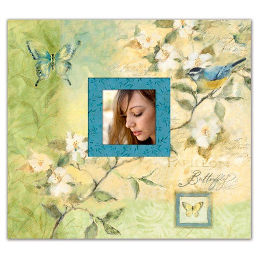 K and Company - Botanical Collection - 12 x 12 Scrapbook Album