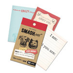 K and Company - SMASH Collection - Journaling Tag Pad - 2 of Us