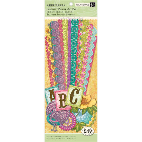 K and Company - Abrianna Collection - Specialty Punch Out Paper Pad