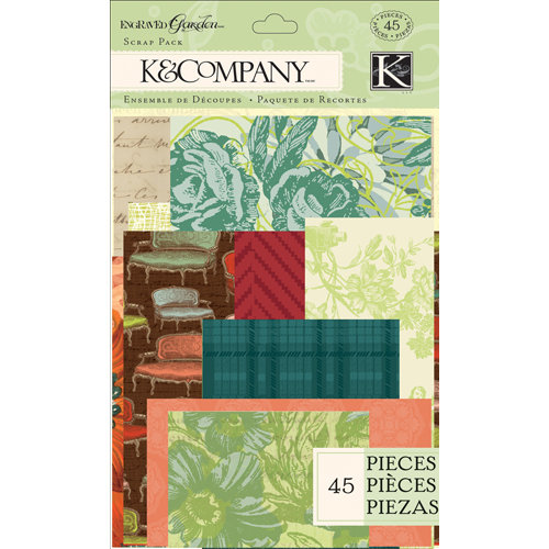 K and Company - Engraved Garden Collection - Scrap Pack