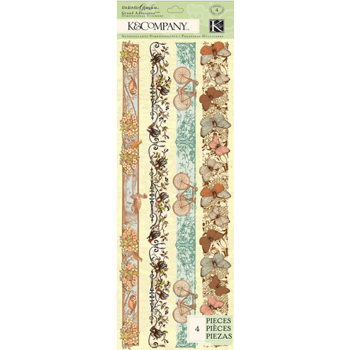 K and Company - Engraved Garden Collection - Grand Adhesions - Border