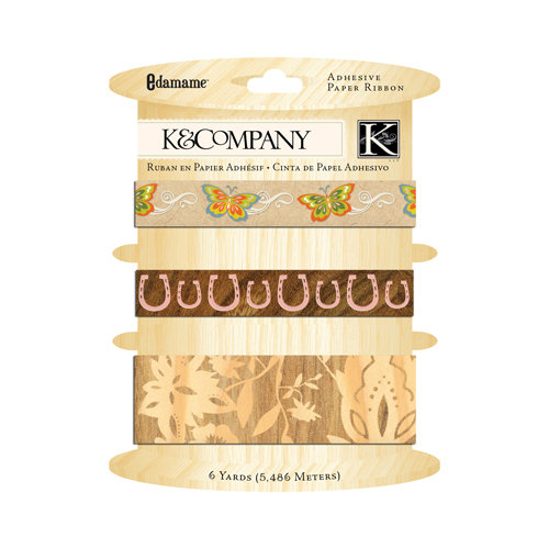 K and Company - Edamame Collection - Paper Ribbon
