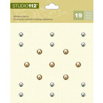 K and Company - Studio 112 Collection - Adhesive Gems - Metallic