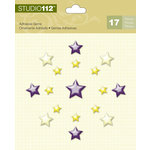 K and Company - Studio 112 Collection - Adhesive Gems - Stars