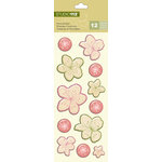 K and Company - Studio 112 Collection - Pillow Stickers - Floral