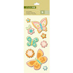 K and Company - Studio 112 Collection - Pillow Stickers - Butterfly