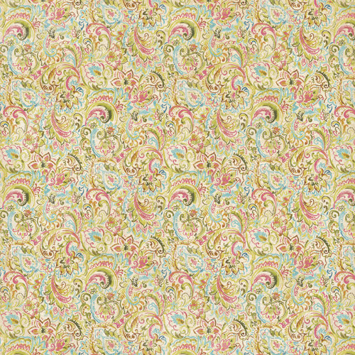 K and Company - Watercolor Bouquet Collection - 12 x 12 Paper - Paisley Swirls