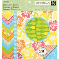 K and Company - Citronella Collection - 12 x 12 Specialty Paper Pad