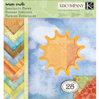 K and Company - Happy Trails Collection - 12 x 12 Specialty Paper Pad