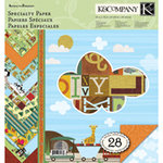 K and Company - Actopus to Zelephant Collection - 12 x 12 Specialty Paper Pad