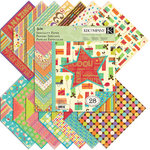 K and Company - Confetti Collection - 12 x 12 Specialty Paper Pad, CLEARANCE