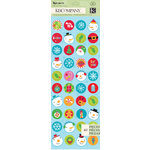 K and Company - Very Merry Collection - Christmas - Die Cut Stickers - Icon