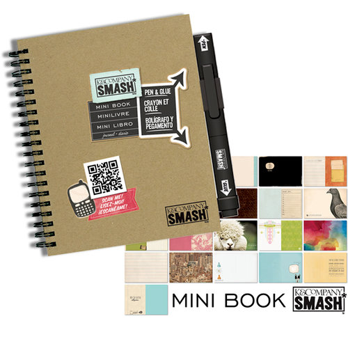 K and Company - SMASH Collection - Journal Book - Mini Folio