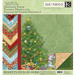 K and Company - Visions of Christmas Collection - 12 x 12 Designer Paper Pad