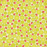 K and Company - Citronella Collection - 12 x 12 Paper - Strawberry Limeade, CLEARANCE