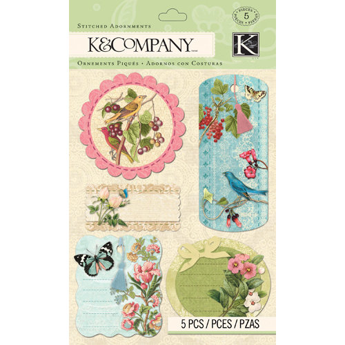K and Company - Merryweather Collection - Stitched Adornments