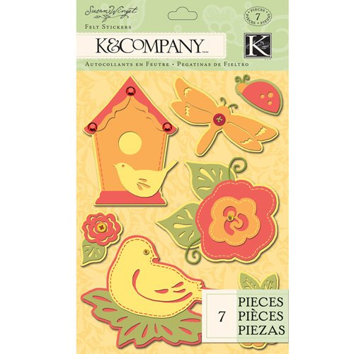 K and Company - Meadow Collection - Felt Stickers