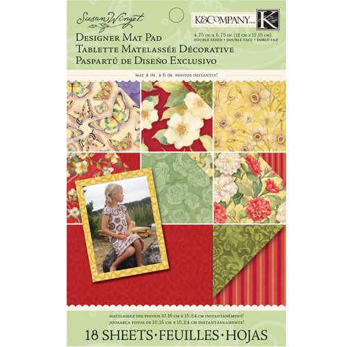 K and Company - Meadow Collection - Mat Pad