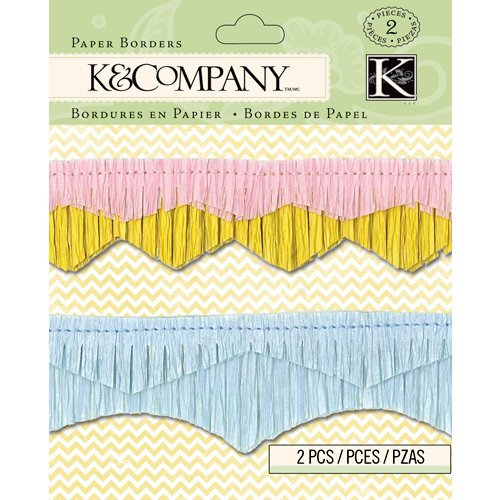 K and Company - Beyond Postmarks Collection - Paper Borders