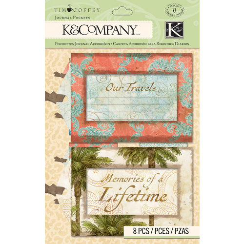 K and Company - Travel Collection - Luggage Journal Tags