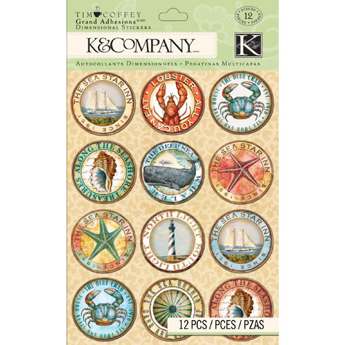 K and Company - Travel Collection - Grand Adhesions - Rondel