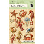 K and Company - Travel Collection - Grand Adhesions - Sea Icons