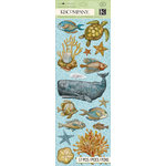 K and Company - Travel Collection - Adhesive Chipboard - Sea