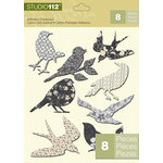 K and Company - Studio 112 Collection - Adhesive Chipboard - Bird