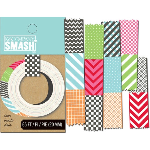 K and Company - SMASH Collection - Decorative Tape - Swatch