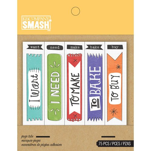 K and Company - SMASH Collection - Page Tabs - Flag