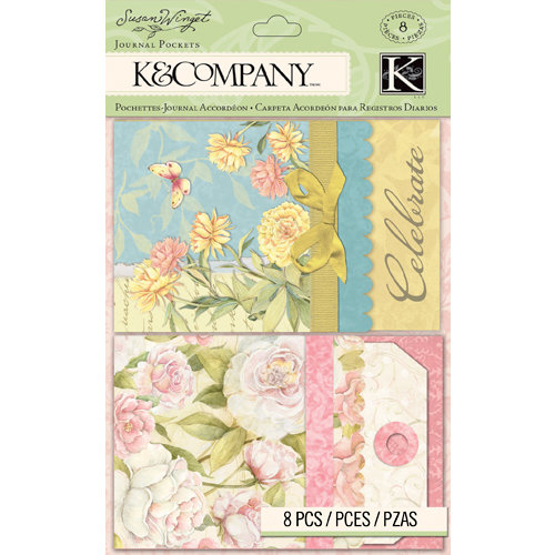 K and Company - Floral Collection - Journal Pockets
