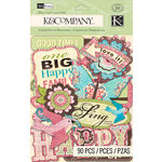 K and Company - Blossom Collection - Die Cut Cardstock Pieces