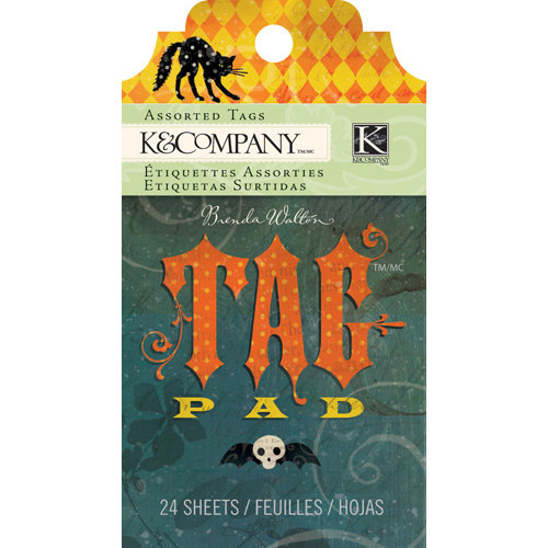 K and Company - Haunted Collection - Halloween - Tag Pad