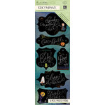 K and Company - Haunted Collection - Halloween - Adhesive Chipboard - Chalkboard