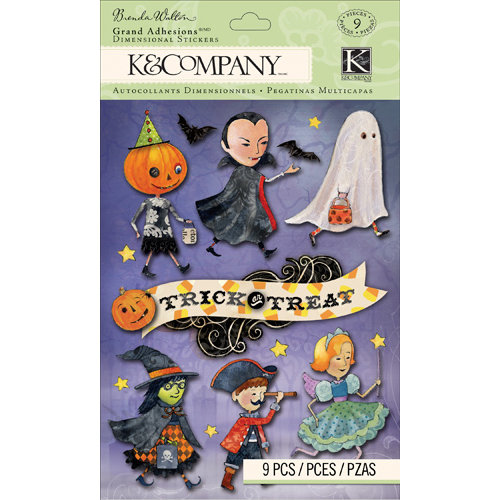 K and Company - Haunted Collection - Halloween - Grand Adhesions - Costume