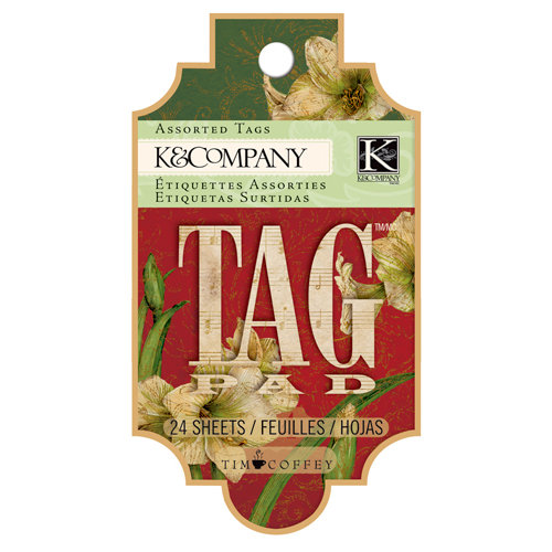 K and Company - Christmas 2012 Collection by Tim Coffey - Tag Pad