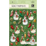 K and Company - Christmas 2012 Collection by Tim Coffey - Pillow Stickers