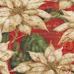 K and Company - Christmas 2012 Collection by Tim Coffey - 12 x 12 Paper - Poinsettia