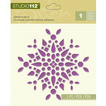 K and Company - Studio 112 Collection - Adhesive Gems - Purple Shape