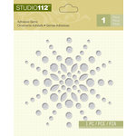 K and Company - Studio 112 Collection - Adhesive Gems - Clear Shape