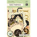 K and Company - Brenda Walton Collection - Die Cut Cardstock Pieces - Maison