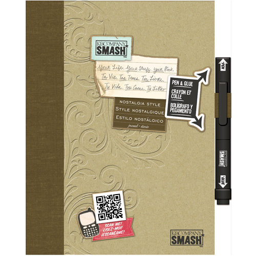 K and Company - SMASH Collection - Journal Book - Nostalgia Style Folio