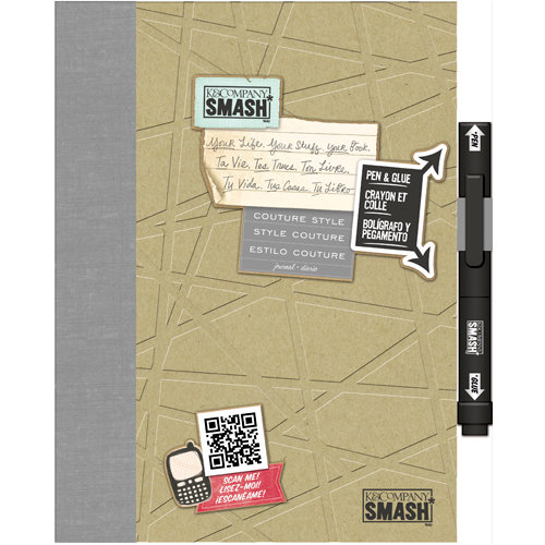 K and Company - SMASH Collection - Journal Book - Couture Style Folio