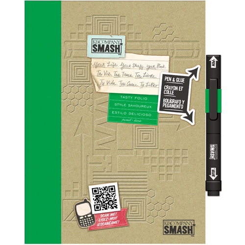 K and Company - SMASH Collection - Journal Book - Tasty Style Folio