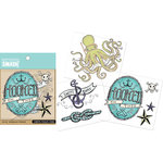 K and Company - SMASH Collection - Tattoo Rub Ons - Nautical