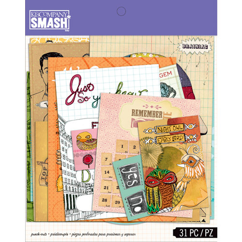 K and Company - SMASH Collection - Punch Outs
