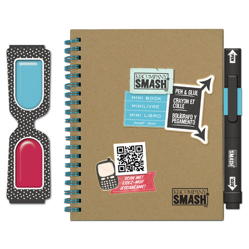 K and Company - SMASH Collection - Mini Book - 3D